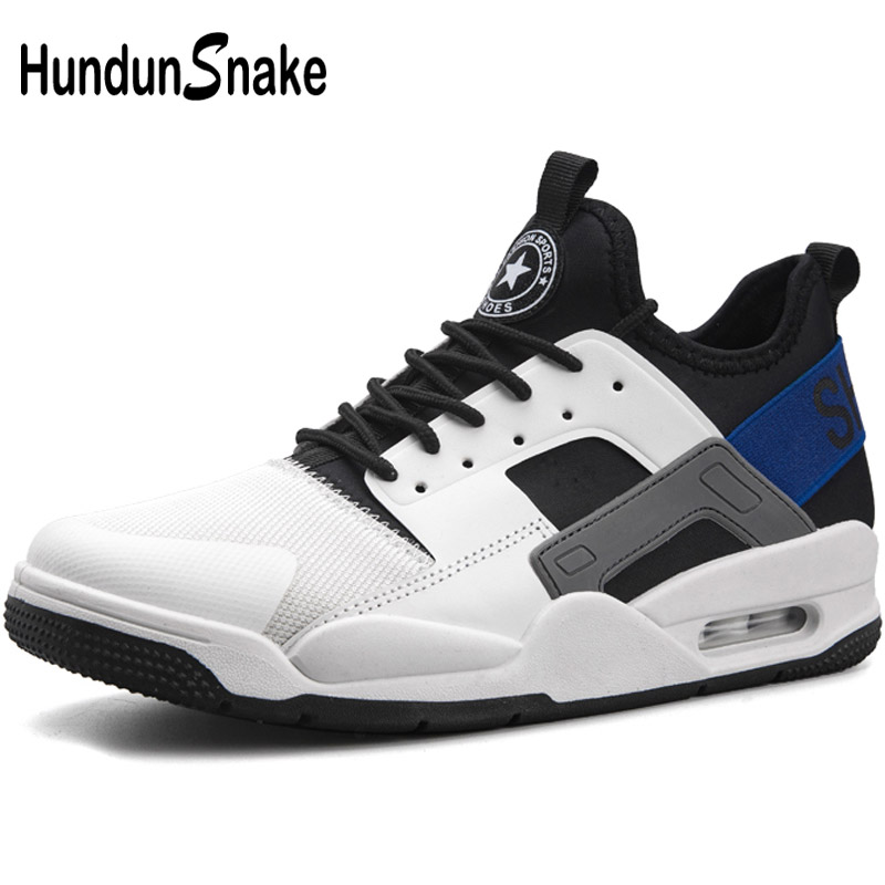 Hundunsnake Breathable Mens Running Shoes For Men Athletic Shoes Mens Sneakers White Sports Shoes For Male Gym Krassovki T565