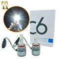 Tamaño pequeño 36 W 3800lm H8 H9 H11 COB Kit Luces Delanteras Del Coche Bombilla LED Lámpara de La niebla Del Faro Play & Plug H1 H3 H7 HB3 HB4 9005 9006 880 881