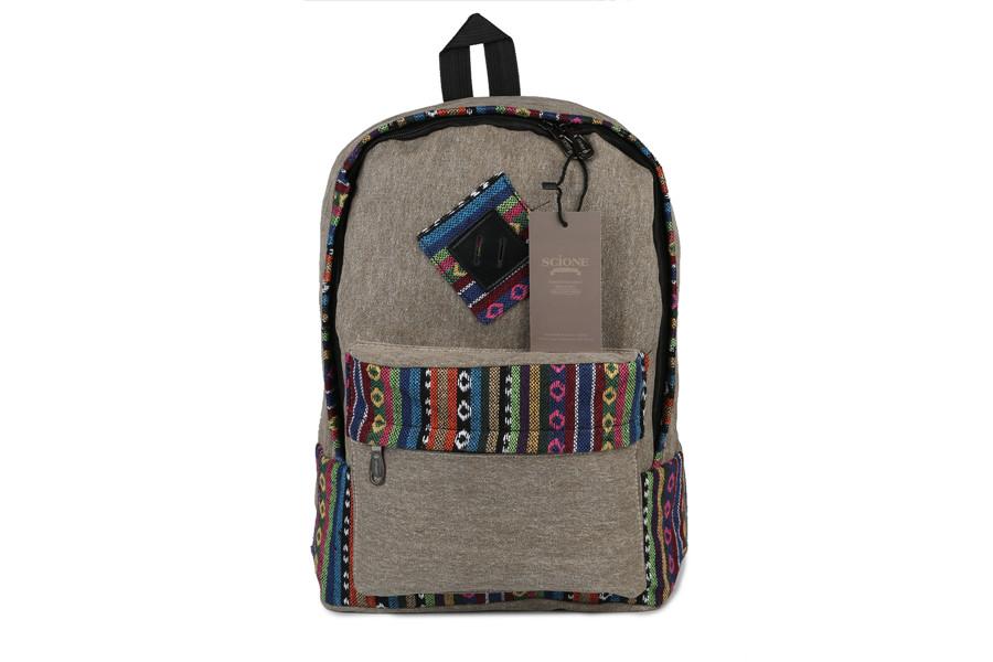 Vintage School Backpack 25
