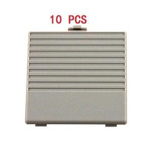 Image 1 - YGCDO 10 قطعة استبدال رمادي غطاء باب البطارية لنظام نينتندو الأصلي لعبة بوي