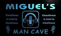 X0150 Tm Miguel S Recording Studio Man Cave Custom Personalized Name Neon Sign Wholesale Dropshipping