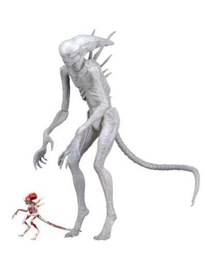 Movie AVP Aliens vs Predator Figure Series Alien Covenant Xenomorph Neomorph Creature Pack Toy Action Figures Model Toy Gift (8)