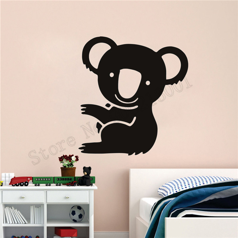 7da967e84f8 Detail Feedback Questions about Wall Sticker Koala Wild Animal Room  Decoration Art Vinyl Home Decor Cute Animal Poster Beautiful Ornament Mural  Decal LY693 ...