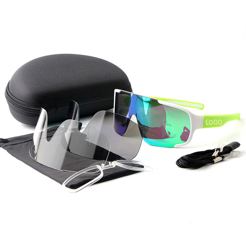 Cycling Glasses 3 lens Outdoor Bike Bicycle Goggles Sport Cycling Sunglasses Brand Design Men Women Cycling Eyewear in Cycling Eyewear from Sports Entertainment