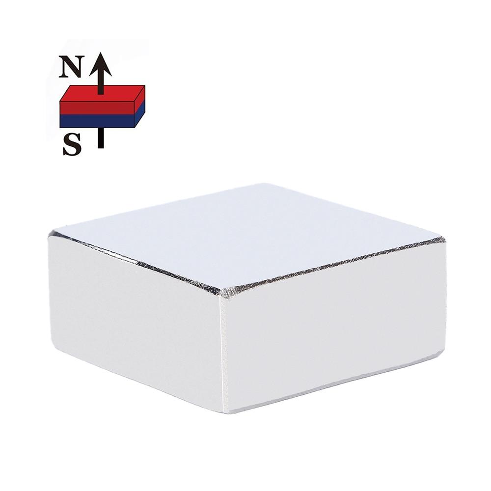 1PC 36mm x 36mm x 15mm Super Powerful Strong Rare Earth Block NdFeB Magnet 36*36*15 36x36x15 N52 Neodymium Magnet (36*36*16) 35 x 35 x 15mm n52 powerful ndfeb square magnet for kid diy