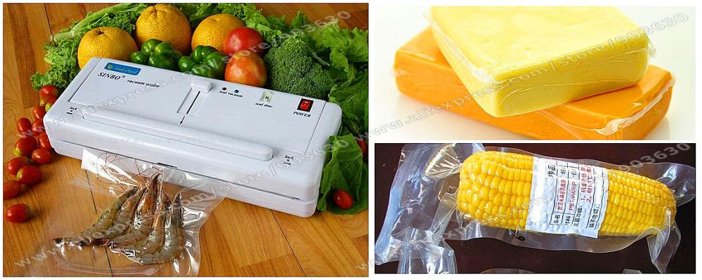 Free Shipping DHL/FEDEX ! New SINBO DZ-280 Household Plastic Bag Vacuum Sealer Packing Machine For Food With 10Pcs Free Bag