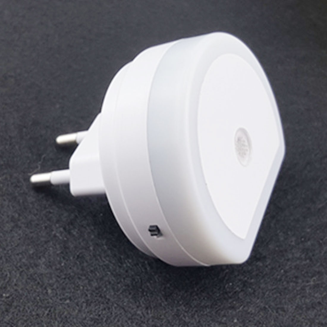 5V 1A LED Night Light With Dual USB Wall Charger Plug Light Sensor EU/US Plug Socket Lamp