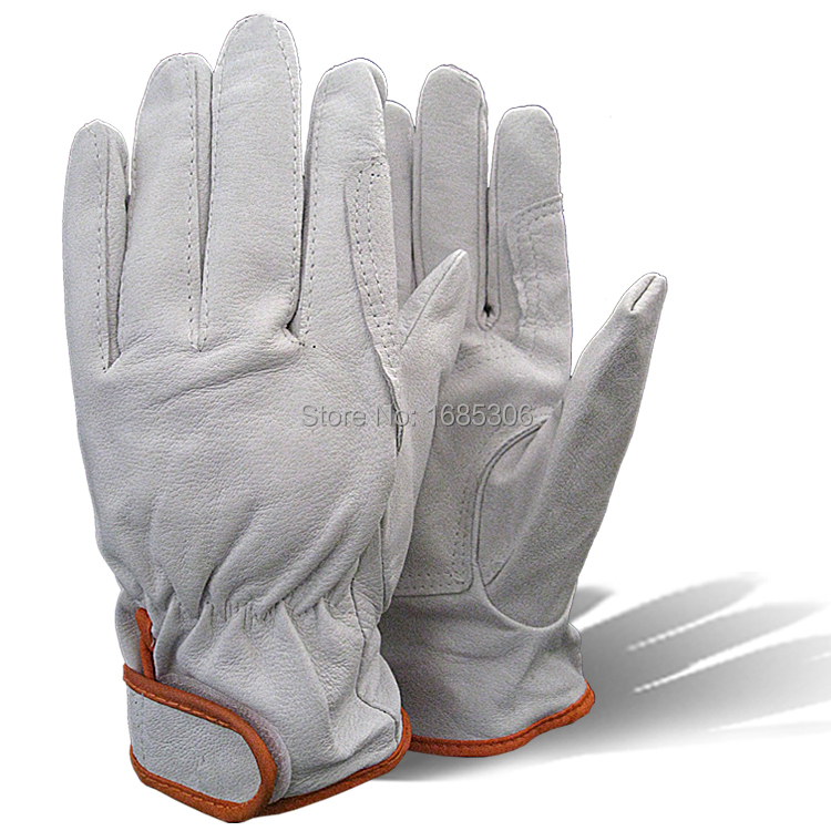 Orange tape safety working gloves high quality mechanic work gloves mechanism glove for workersOrange tape safety working gloves high quality mechanic work gloves mechanism glove for workers