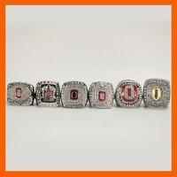 2002 2008 2009 2014 2014 2015 OHIO STATE BUCKEYES FOOTBALL BIG TEN CHAMPIONSHIP RING US
