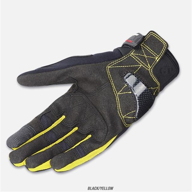 New Summer Touch Screen KOMINE GK162 3D Mesh TECHNOLOGY Motorcycle Rding glove motorbike Moto racing gloves M-XXL 4