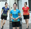 2017 New Sportswear Sweat Quick Dry Breathable Badminton Shirt Tennis Women Clothes Training Exercise POLO T
