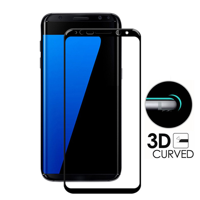 low priced 58779 97e81 US $4.59  GXE 3D Curved Full Screen Cover Tempered Glass For Samsung Galaxy  S8 Plus Note 8 A7 A3 A5 2017 Edition A520 S7 edge S6 Plus Film-in Phone ...