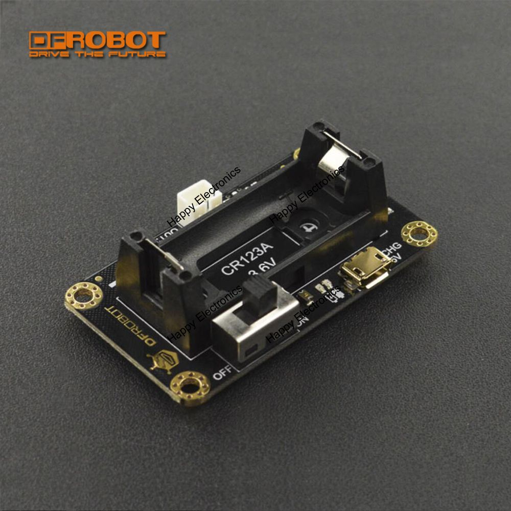 DFROBOT CR123A Li-ion Battery Holder for Micro Maqueen