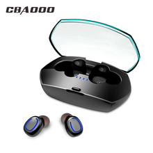 Bluetooth 5.0 Wireless Earphone IPX6 Waterproof TWS Sport Earbuds Stereo Earphone Headphones With microphone Sports Earbuds цена