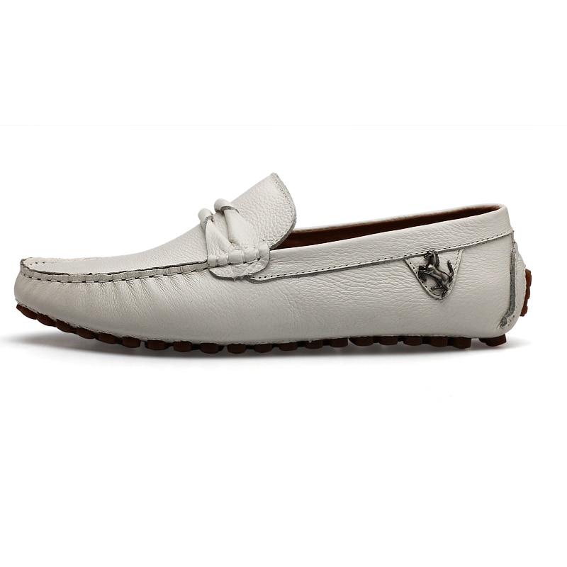 6a8eca2b041 ... Men s Loafers Designer Flat Soft Leather Shoe Fashion Boat Shoes Luxury  Brand Hot Sales. Facebook · Twitter · Pinterest