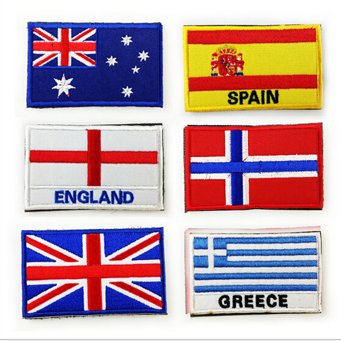 Arts,crafts & Sewing Search For Flights Embroidered Country Flag Army Badge 3d Tactical Military Badges Fabric Cloth Combat Armband World Flag Badges Home & Garden