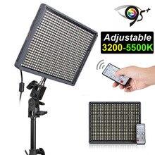 Aputure Amaran HD DV видео светодиодные HR672C CRI95 + 3200 К-5500 К Регулируемый + беспроводной пульт дистанционного управления видеокамера световой панели