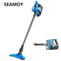 Seamoy Wireless Vacuum Cleaner Cyclone Large Suction Handspike and Hand Held Bagless Dust Collector 2 In 1 Cordless Vacuum Stick