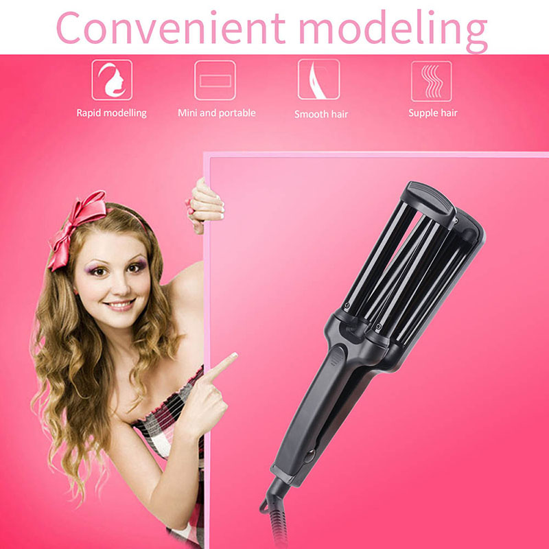 Fast 3 Barrel Curling Iron Curling Wand Hair Curler DIY S Wave Curls Fashion Salon Hair Styler 13mm For Lady Girls 100-240V S34 ludmila s broken english – a novel