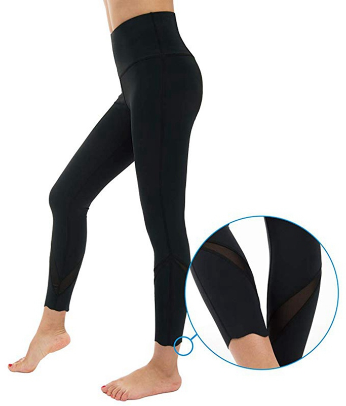Extra Large Size XL Elastic Yoga Leggings Women Bilateral Pocket Yoga Pants Running Workout Breathable Sportswear Sport