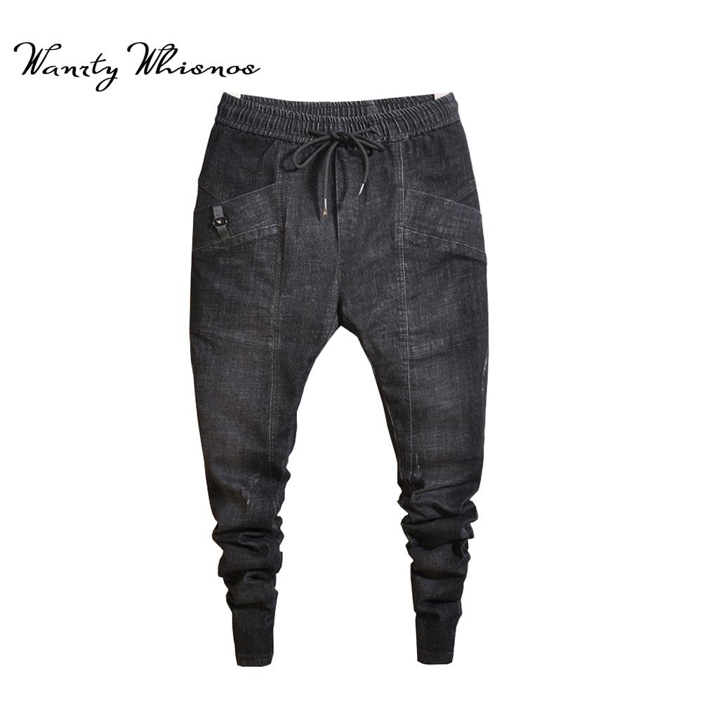 Novedosos Pantalones Vaqueros Cagados Para Hombres Modernos Esdeali Com