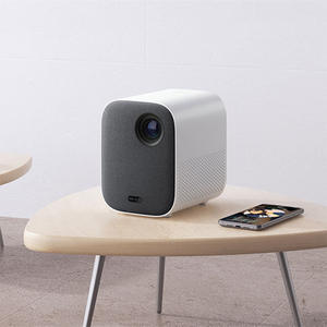 Xiaomi Projector-Mount TV Mini Lumens Portable Home 1080p MIUI HDR10 ANSI Wifi for 500