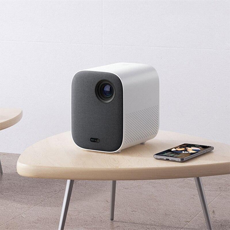 Xiaomi Mini projecteur portable projecteur Projection 1080p projecteur 500 ANSI lumens MIUI TV HDR10 2.4G/5G WiFi pour la maison
