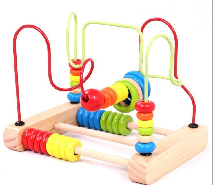 En Bois pour enfants tôt éducation renseignement jouets