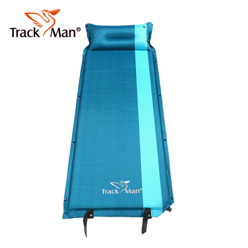 Фотография Trackman Outdoor Ultra-light portable camping mat Automatic inflatable Sleeping Pad hiking Tent Mat Travel Beach Mattress