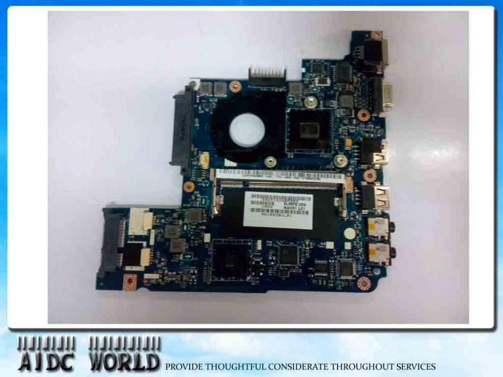 Laptop Motherboard FOR ACER EMACHINES 350 EM350 MB.NAH02.001 (MBNAH02001) NAV51 LA-6311P 100% tested GOOD 90days warranty motherboard for acer aspire 7339 7739 emachines e729 e729z mbrn60p001 08n1 0nx3g00 aic70 main board 100% tested good