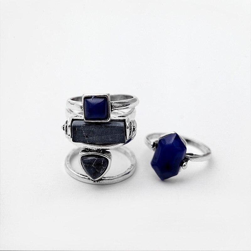Vintage rings 4 PCS 2
