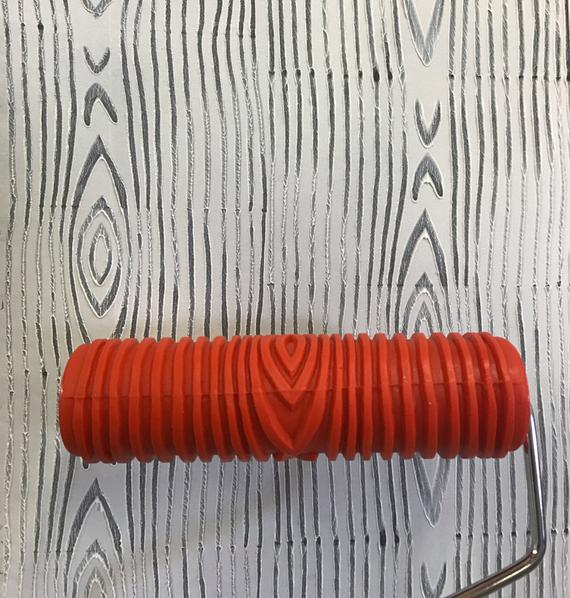 Padrão decorativo Rolo de Pintura Ferramentas de Pintura para Quarto Parede Gravando a Textura de Borracha Máquina de Pintura Airless Brush EG300T