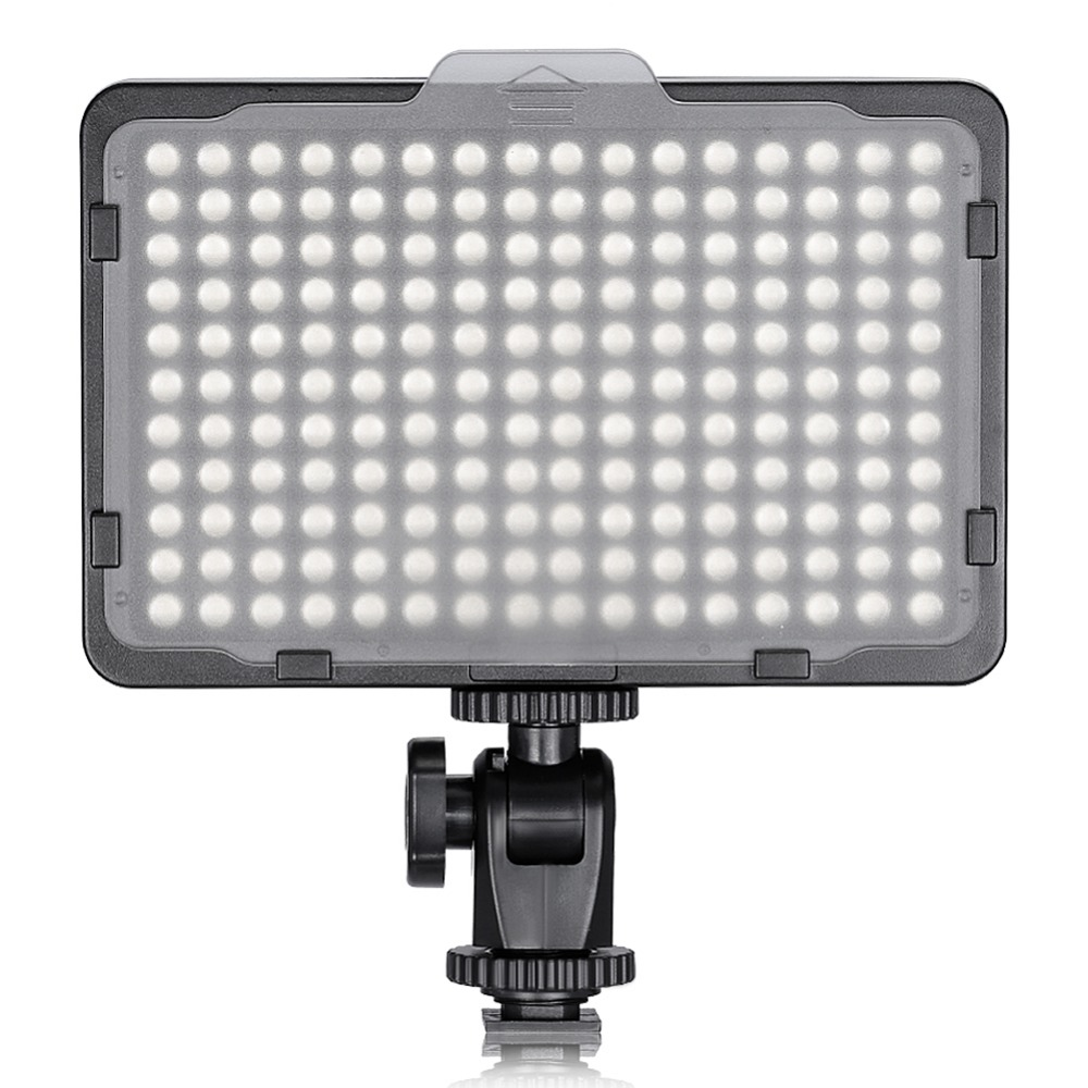 Neewer Photo Studio 176 LED Ultra Bright Dimmable on Camera Video Light with 1/4-inch Thread Mount for Canon/Nikon/Pentax/etc