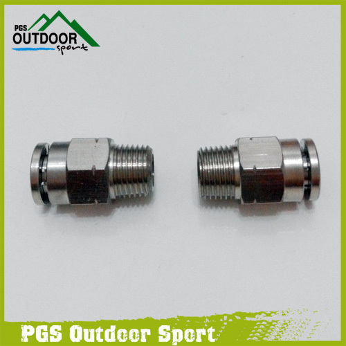 Image 3 - A Lot of 2 Paintball Straight Macro Micro Line Hose Elbow Fitting-in Paintball Accessories from Sports & Entertainment