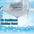 Volledig Gesloten Type Airconditioner Schoonmaken Wassen Tool Plafond Wandmontage PVC Airconditioning Cleaner Wassen Tool Cover