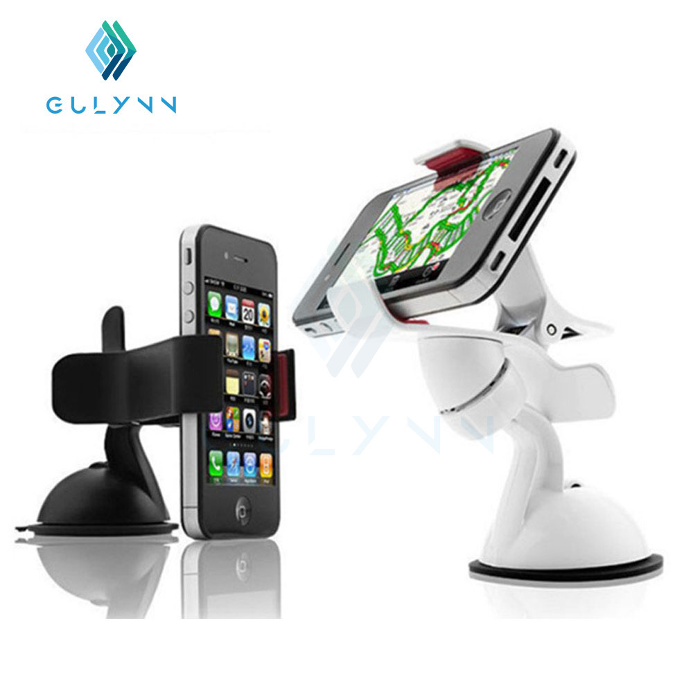 GULYNN 2016 hot 360 degree Mobile Phone Stent Smartphone handle Holder Support For Iphone 5 5s 6 6s 6plus 8 7 Car Holder Hook in Phone Holders Stands from Cellphones Telecommunications