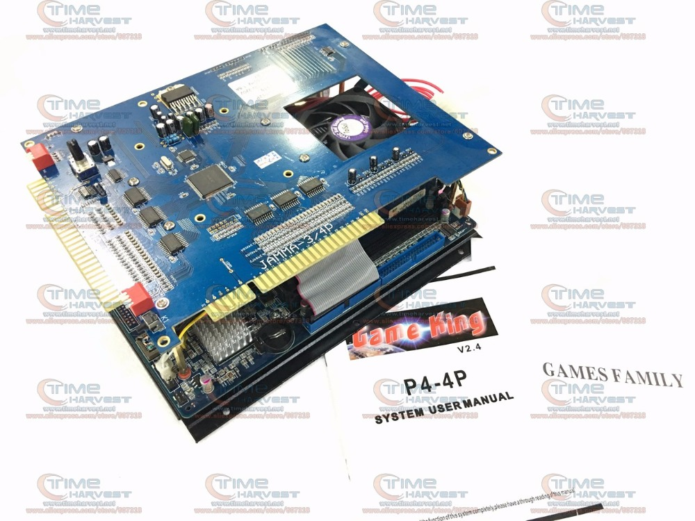 Multi games 2019 in 1 game board 2.4G CPU 40G without ATX power supply high resolution classical game for arcade game machine replace upper board of 2019 in 1 game board upper jamma board for 2019 game family multi games board 2019 in 1 pcb spare parts