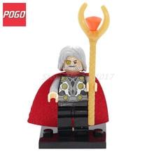 POGO Odin Action Figure Superhero DIY Model With Lepin Building Block Set Brick Single Sale Educational