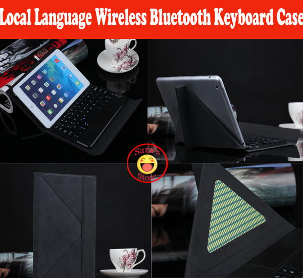 Local Language Wireless Business Bluetooth Keyboard <font><b>Case</b></font> For <font><b>Huawei</b></font> MediaPad <font><b>T3</b></font> 7 <font><b>8</b></font> T1 7.0 T2 7.0 T2 7.0 Pro PC And 4 Gifts image