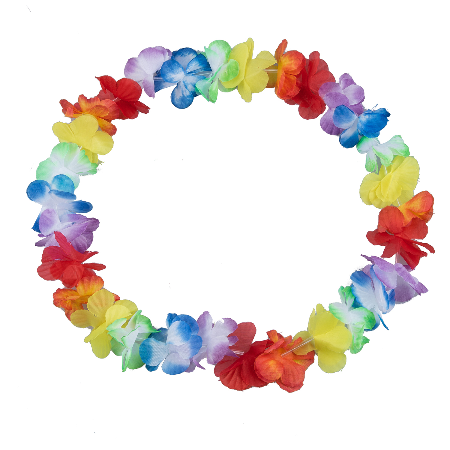 Hawaiian flower necklace 10pcs costume accessory for Party Costumes
