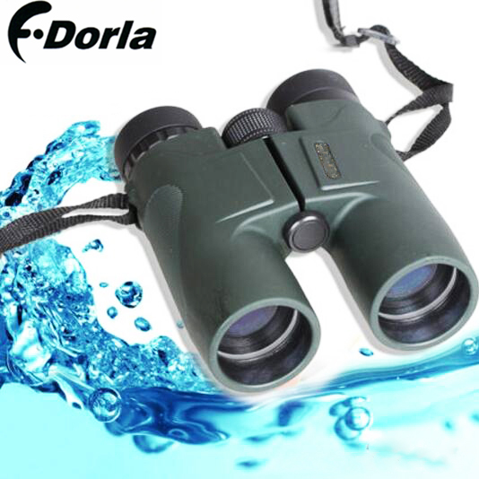 F.dorla Military HD 10x42 Binoculars Hunting Telescope BAK4 Zoom High Quality Vision No Infrared Eyepiece Army Green black asika military hd 10x42 binoculars professional hunting telescope zoom high quality vision eyepiece powerful compact waterproof