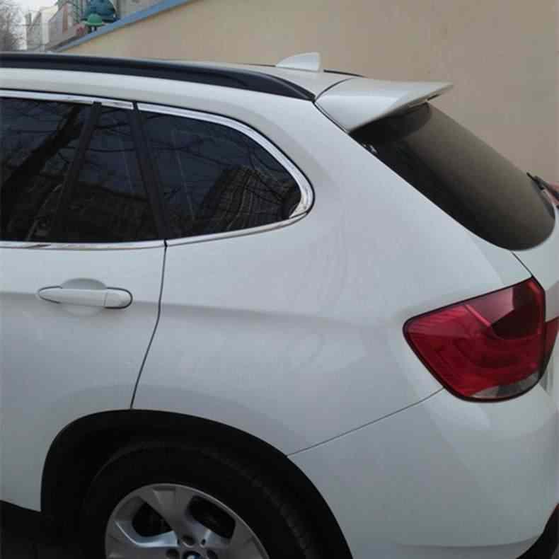 สำหรับ X1 E84 สปอยเลอร์ 2012-2015 BMW X1 E84 28I 20I 18I สปอยเลอร์ P พลาสติก ABS วัสดุด้านหลังสีปีกสปอยเลอร์ด้านหลัง
