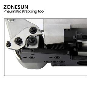 Image 4 - ZONESUN AQD 25 นิวเมติกสายรัดพลาสติกเครื่องมือสำหรับ PP ต่อเทป