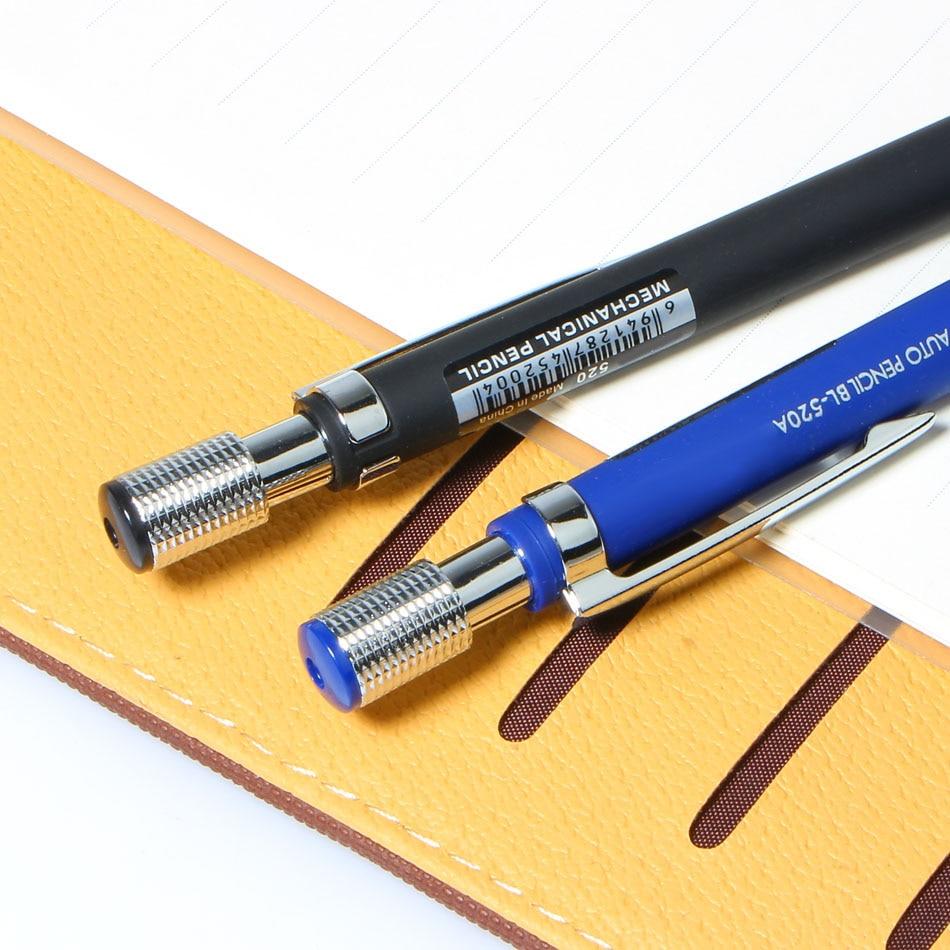 Nuevo 1Pcs 2.0 mm Plomo negro Dibujo mecánico Dibujo Lápiz Azul / - Bolígrafos, lápices y útiles de escritura - foto 5