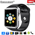 Edwo a1 bluetooth smart watch reloj tarjeta de la ayuda sim podómetro smartwatch u8 reloj inteligente para ios android pk dz09 gv08