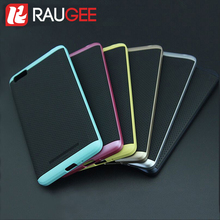 2016 Newly RAUGEE Brand PC+TPU High Quality Anti-knock Protective Back Cover Case For Xiaomi Mi4C M4i Smart Phone+In Stock