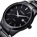 Relogio masculino curren marca de moda de lujo fecha display analógico reloj de pulsera deportivo de los hombres de negocios reloj de cuarzo reloj de los hombres