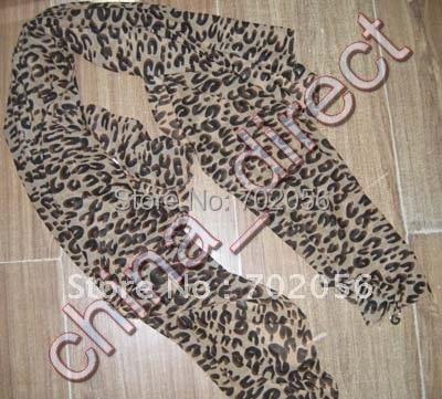 Женская подвеска дизайн шарф с леопардовым принтом шаль шарф 10 шт./лот#1968