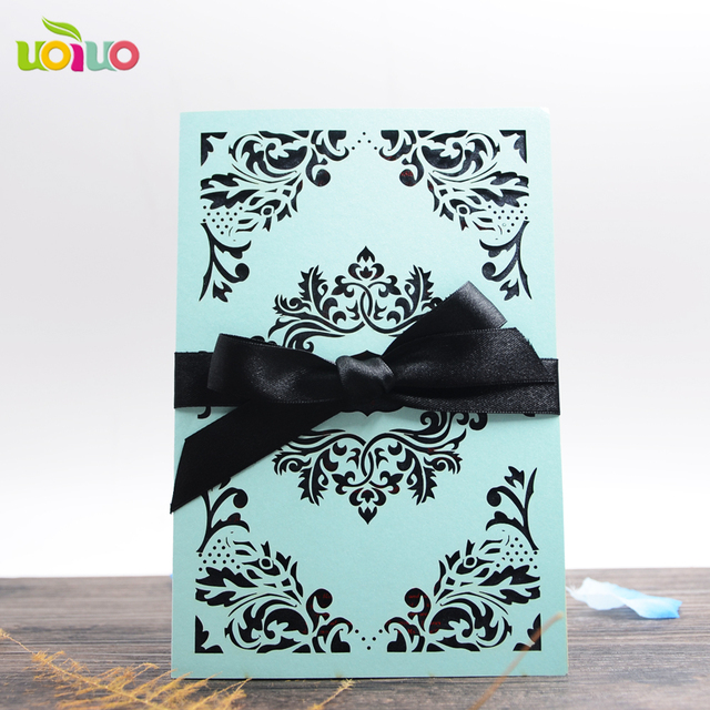 new products elegant fancy lace invitation wedding cards in lahore
