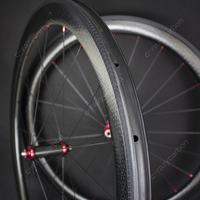 Free Shipping Dimple Aerodynamic Carbon Road Wheels Carbon Hubs R36 and Aero Flat Spokes Showstopper Brake Track Free Stickers